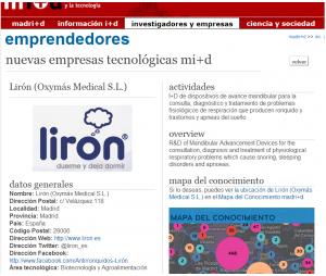 Liron una empresa de Base Tecnologica de Madrid