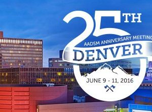 Liron en el congreso AADSM American Academy of Dental Sleep Medicine Denver CO. Junio 2016